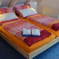 Schlafzimmer im oberen Stockwerk