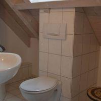 WC im oberen Stockwerk